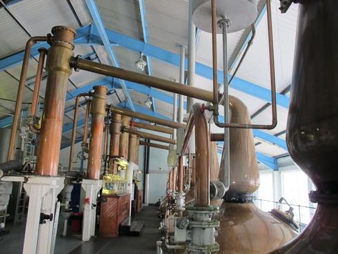 Lynne arms Laphroaig Distillery Islay Scotland_tn