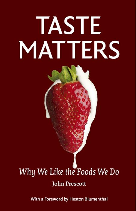 Taste matters cover