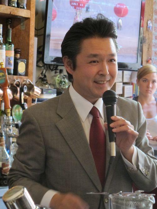 Takayuki Suzuki Hawaii Cocktail Week5