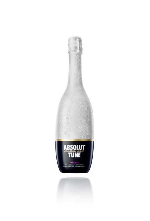 Absolut Tune Bottle White