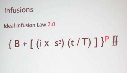 Infusion formula pressure