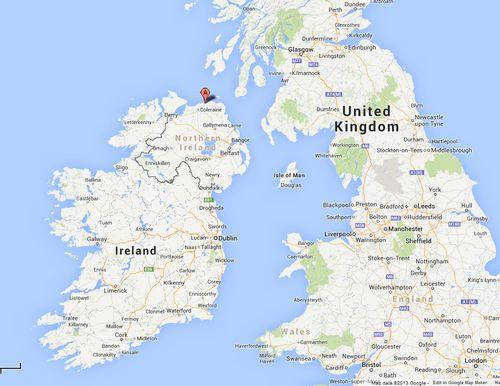 Map Of Ireland Giants Causeway.Distillery Visit Bushmills In Ireland Alcademics