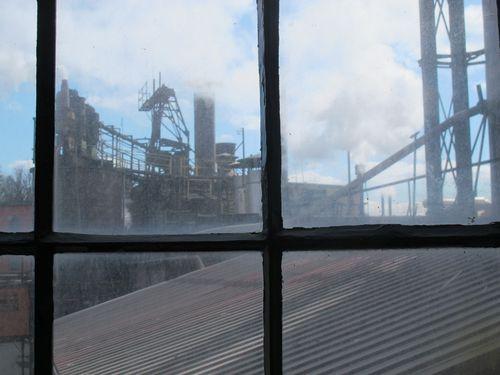 Buffalo Trace Distillery window view2