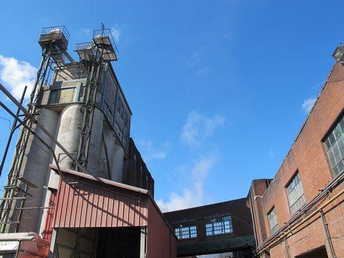 Buffalo Trace Distillery outside