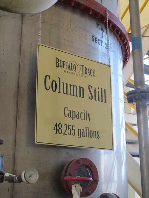 Buffalo Trace Distillery column still