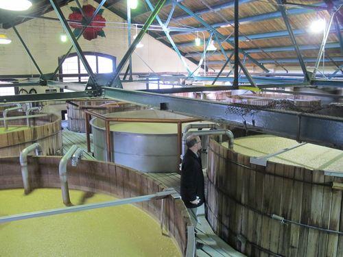 Four Roses Distillery fermenters