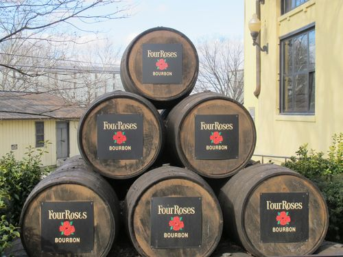 Four Roses Distillery barrels2