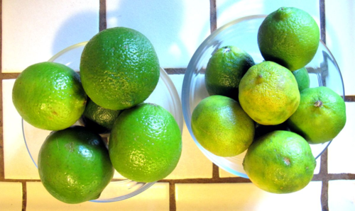 Good and janky limes
