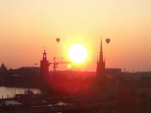 Sunset from eriks gondolen2