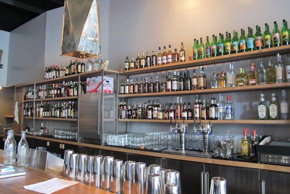 ABV Back Bar
