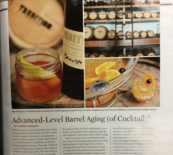 Malt Advocate Barrel Aging