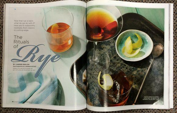 Rye Cocktails Malt Advocate