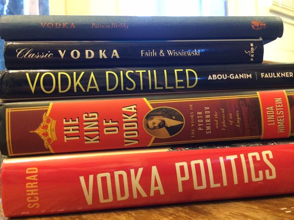 Vodka books