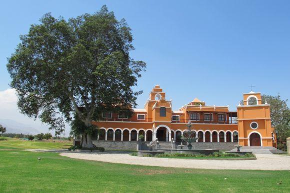 La Caravedo Distillery Pisco Porton Peru house3