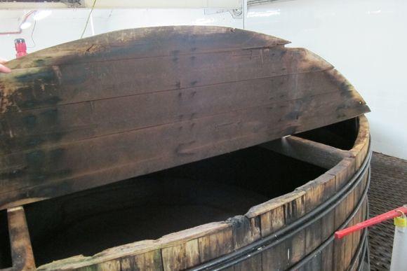 Bunnahabhain Distillery Islay Scotland wash back1