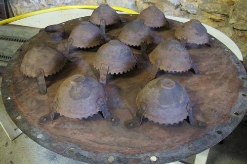 Centipede plates at Armagnac Gelas