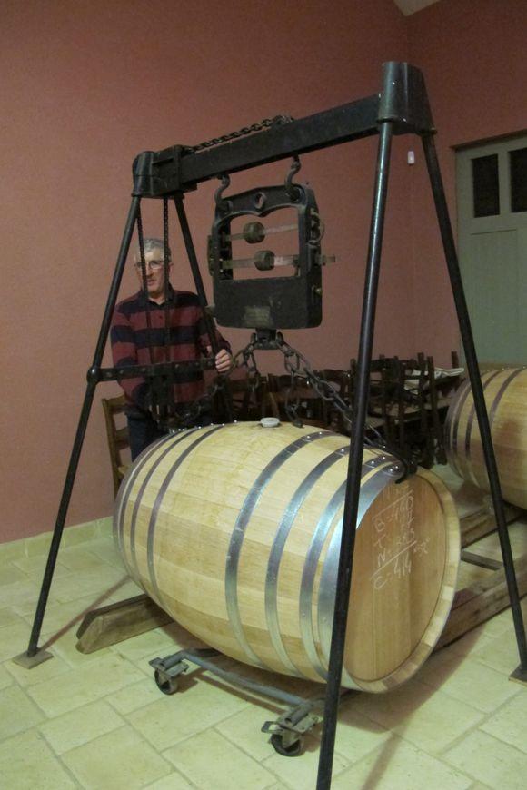 Just filled cask Domaine de Boingneres