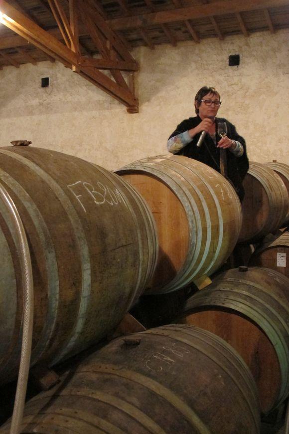 Martine Lafitte at Domaine de Boingneres 3