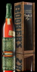 Booker's Rye Bottle + Box Shot