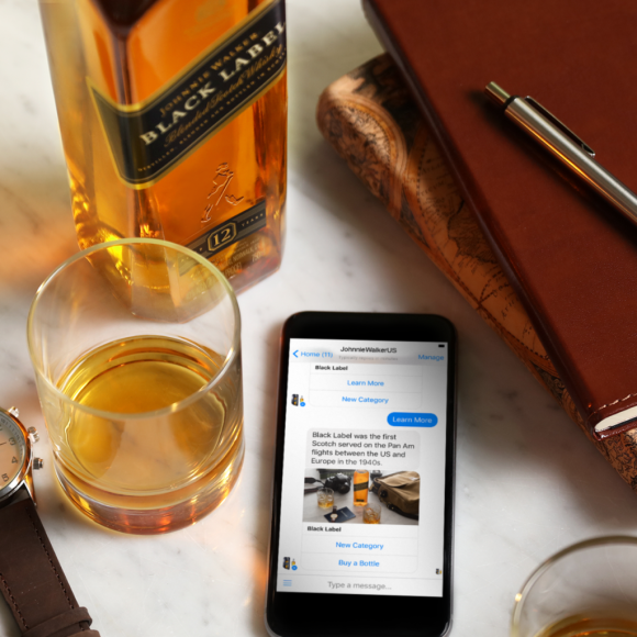Johnnie Walker launches bot for Facebook Messenger bringing whisky tasting and education to your fingertips