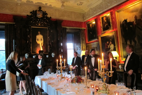 Fyvie Castle Dinner3