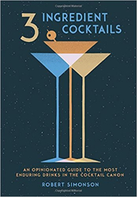 3 ingredient cocktails book