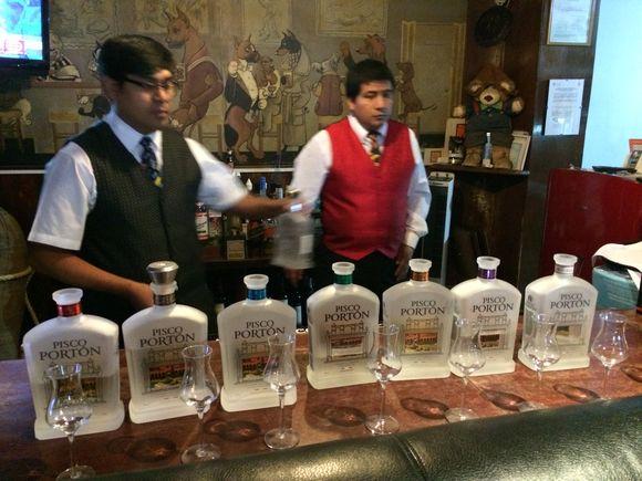 Key Club Lima Peru Pisco Porton Tasting