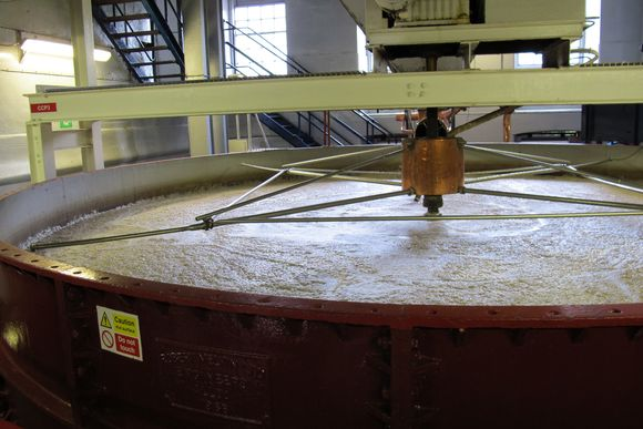 Deanston Scotch Whisky Distillery mash tun