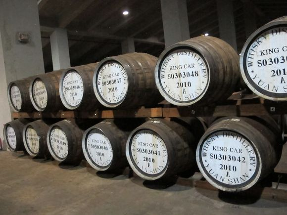 Kavalan Whisky Taiwan barrels 4