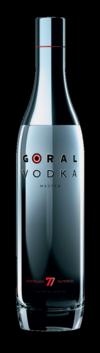 Goral Vodka MASTER 40% 700ml_black BG