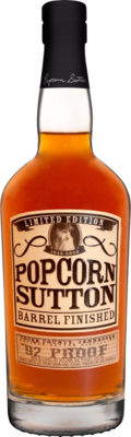 Popcorn Barrel Finished - Transparent
