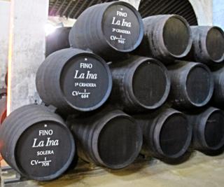 Lustau bodega barrels