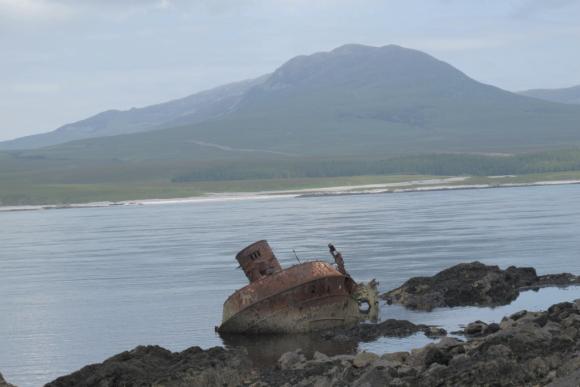 Bunnahabhain Distillery Islay Scotland shipwreck