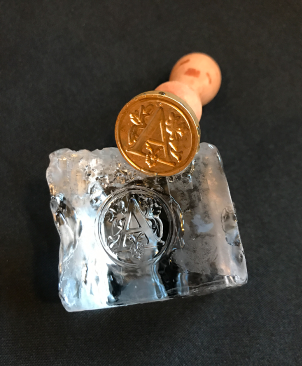How to Monogram your Ice Cubes with Ice Brands - Alcademics
