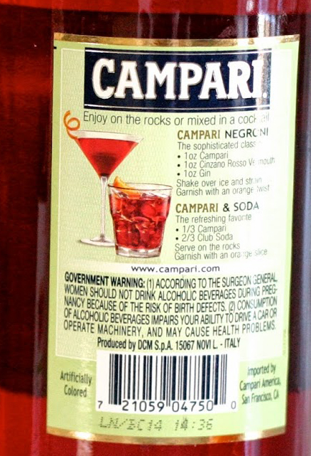 Campari Is Made Differently Around The World Cochineal