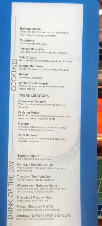 Booze On Cruises Updates On Cocktails On Princess Cruises