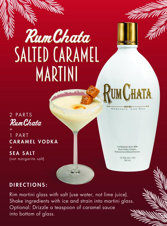 Salted Caramel Martini Drink Recipe