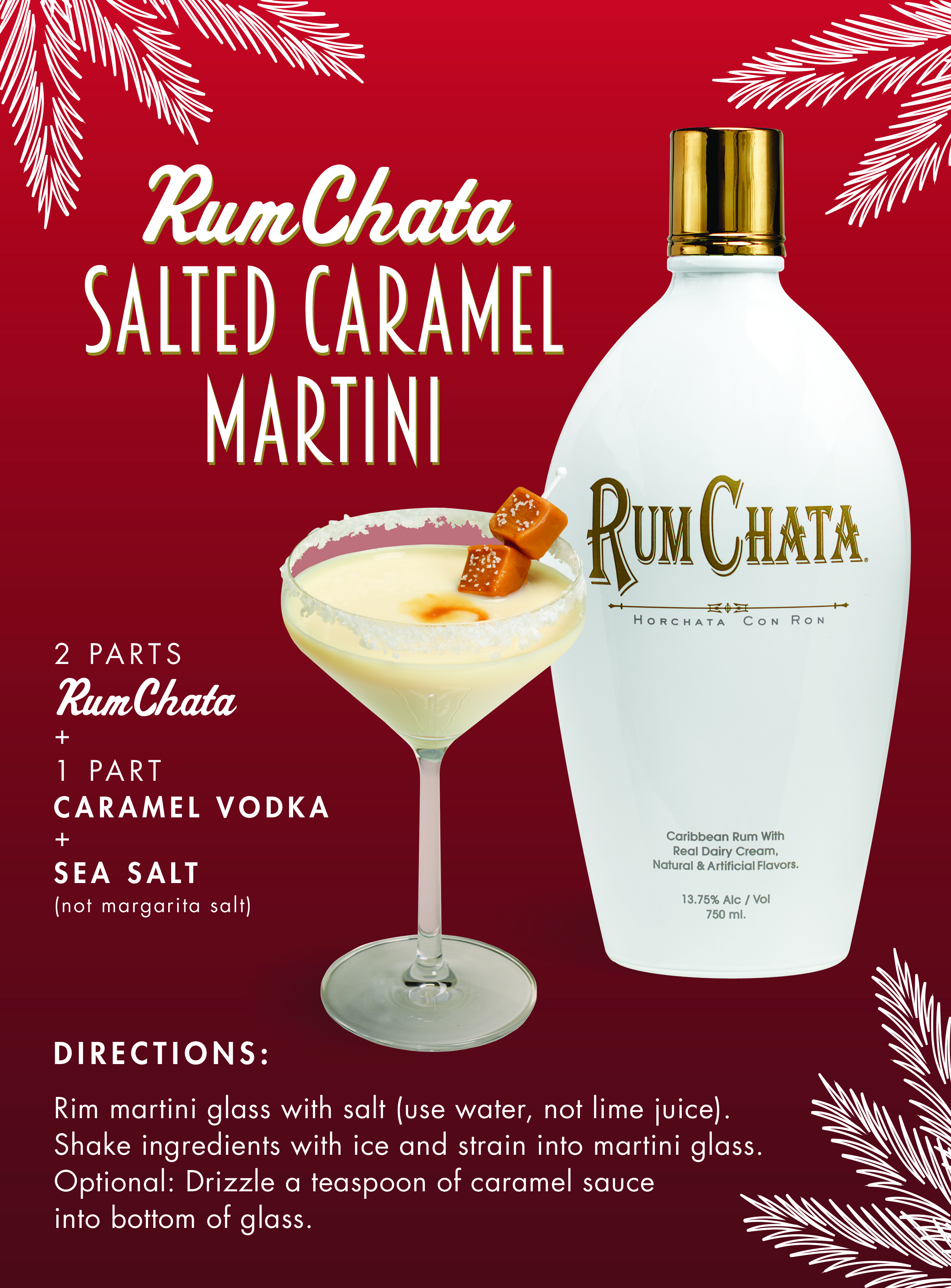 Salted Caramel Martini Recipe from RumChata [sponsored] - Alcademics