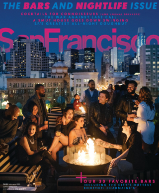 SF Mag cover Feb 2018