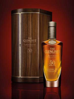 50 Year Old Whiskey >> New Booze A 50 Year Old Whiskey From The Glenlivet Alcademics