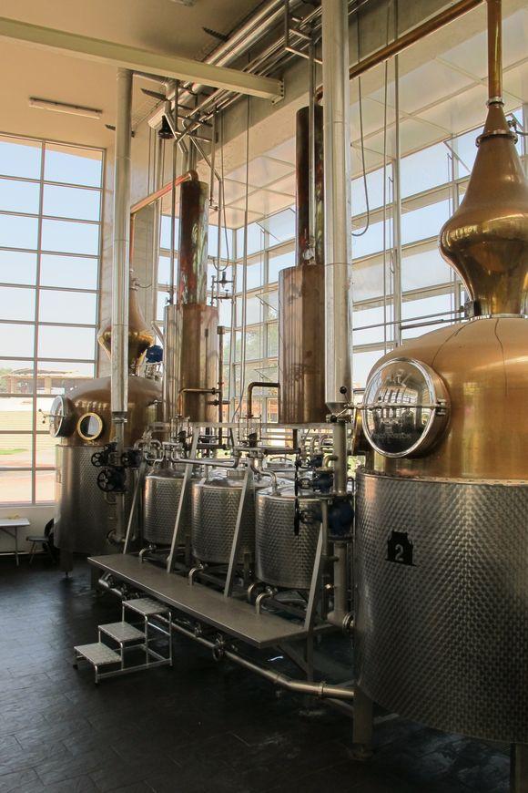 La Caravedo Distillery Pisco Porton Peru new distillery2