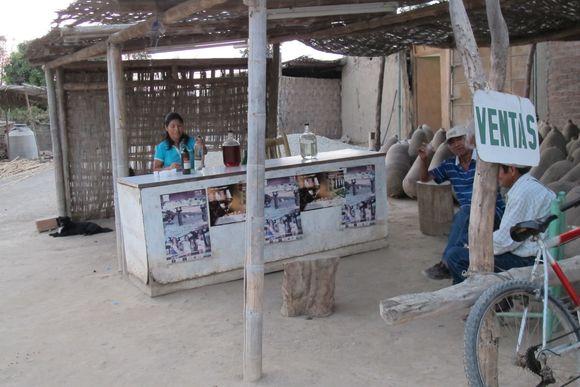 Bar at Lovera Distillery Pisco Peru10