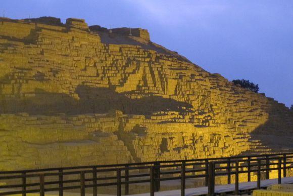 Huaca Pucllana temple Lima Peru7