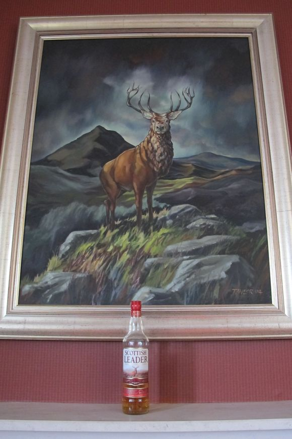 Deanston Scotch Whisky Distillery original label painting