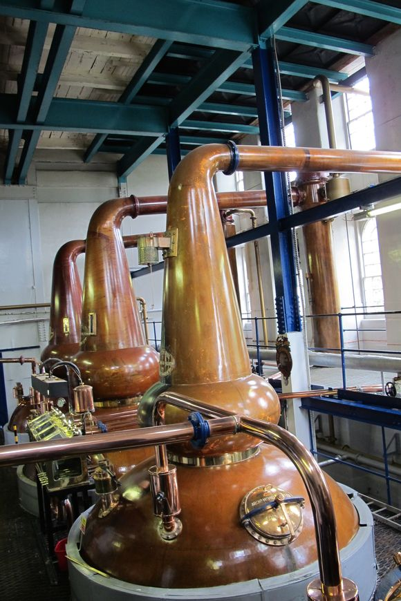 Deanston Scotch Whisky Distillery stills5