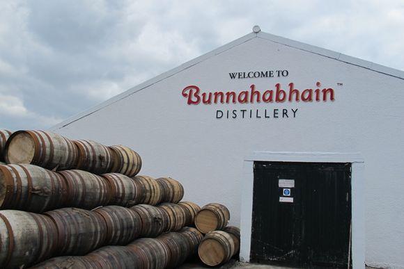 Bunnahabhain Distillery Islay Scotland outside2