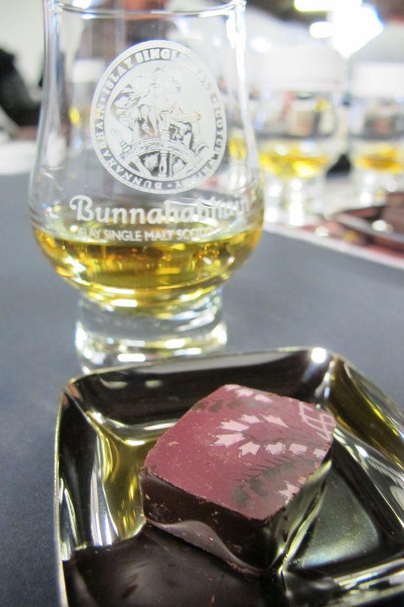 Bunnahabhain Distillery Islay Scotland chocolate pairing2