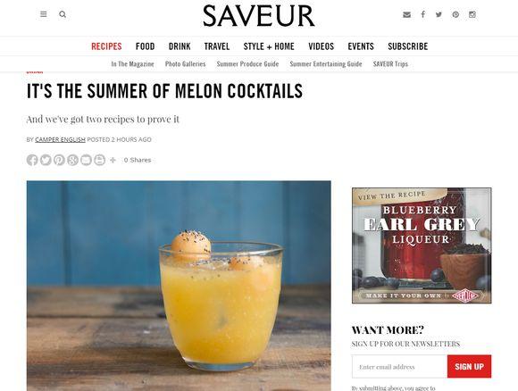 Melons saveur