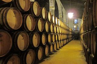 Redbreast casks at Lustau bodega3