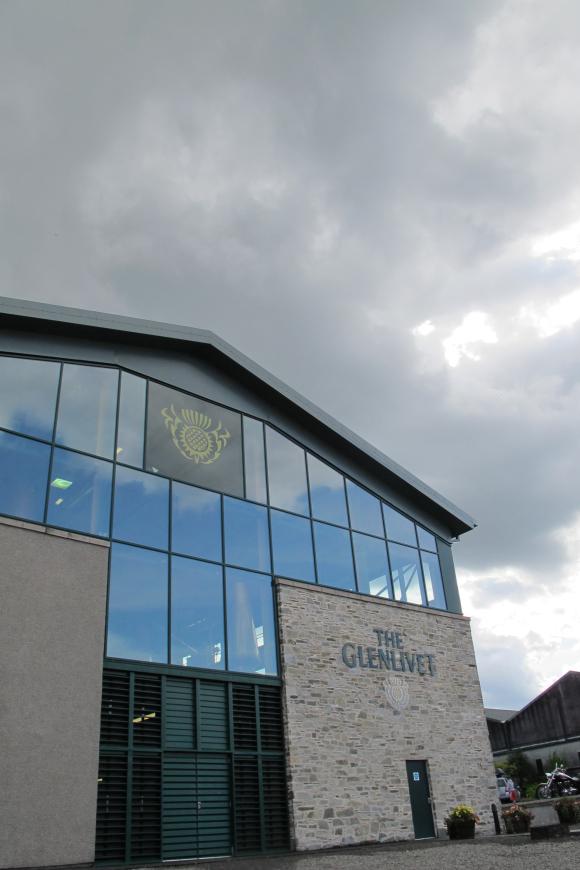 People Around stills Glenlivet Distillery